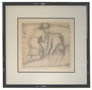 Aristide Maillol Les Glaneuses (The Gleaners) Framed Lithograph from 1926