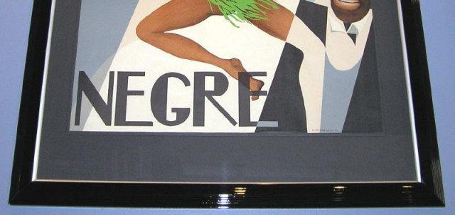 CARON Josephine Baker Poster Aft PAUL COLIN