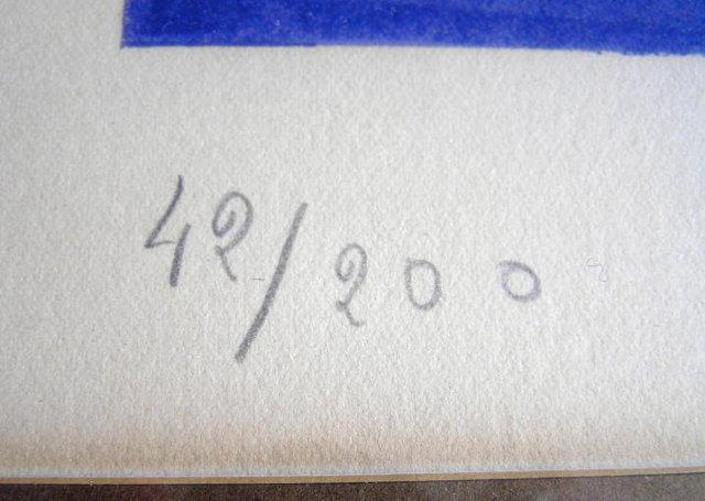 GEORGES BRAQUE Deux Oiseaux Lithograph