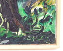 EMERIC French Wooded Landscape Painting