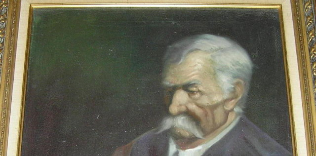 Hungarian Gentleman Portrait Oil Painting by Almády