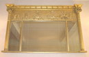 Regency Giltwood Classical Overmantel Mirror