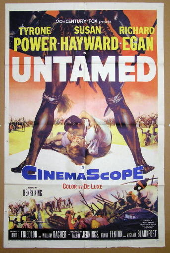 Power & Hayward UNTAMED 1 Sheet Poster