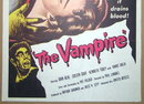 '57 THE VAMPIRE 1 Sheet Poster Board