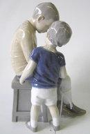 Bing & Grondahl Boys / Brothers Figurine