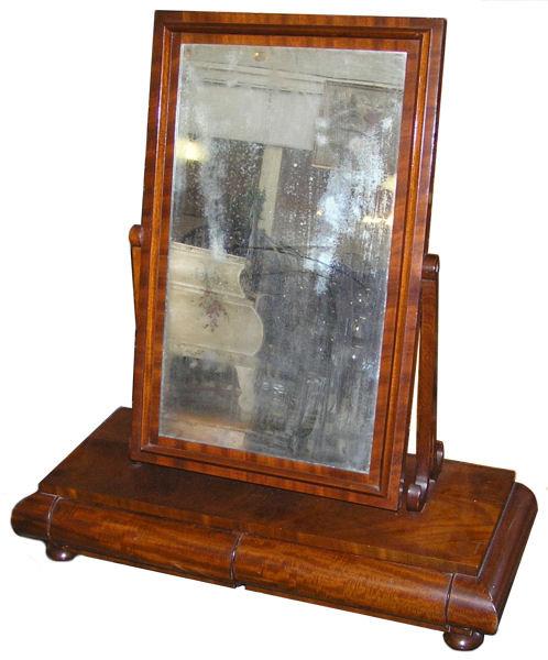 Biedermeier or Empire Dressing Mirror