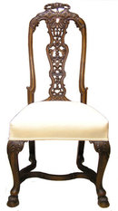 Set 4 Portuguese Queen Anne Style Chairs