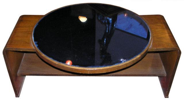 Art Deco Cobalt Blue Coffee Cocktail Table