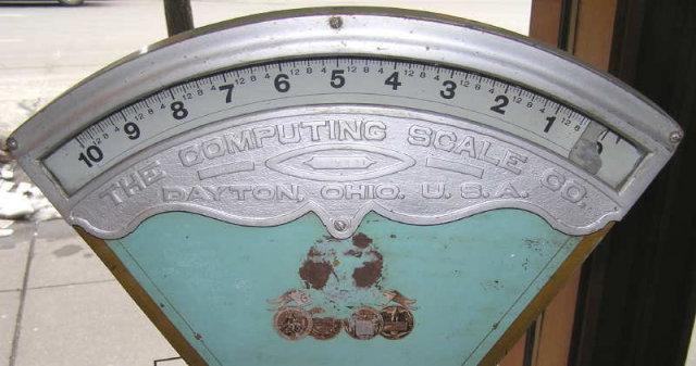 1909 Dayton Computing Scale Co Scale