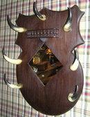 Vintage Western Mirror w Bull Steer Horns