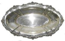 Vintage Gorham Repousse Sterling Platter