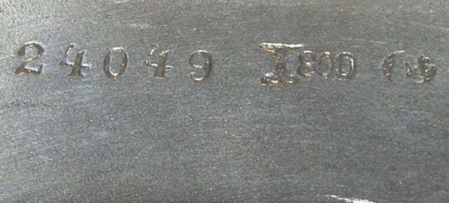 German Classical Repousse Silver Platter