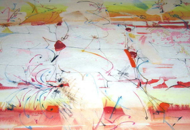 Abstract Watercolor by Dimitri Petrov
