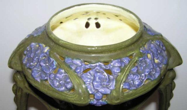 Primavera Turn Teplitz Art Nouveau Vase