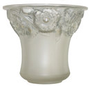 Lalique Orleans Frosted Glass Vase