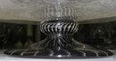 Violet French Schneider Glass Centerpiece