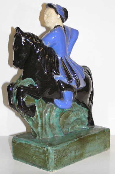 CAZAUX Ceramic Figurine by Sibylle May