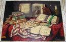 Arisztid SZENDY Hungarian Still Life Painting