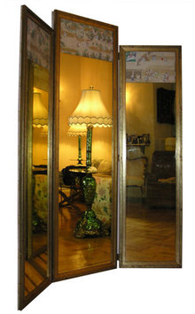 Japanese Screen Dressing Mirror / Screen