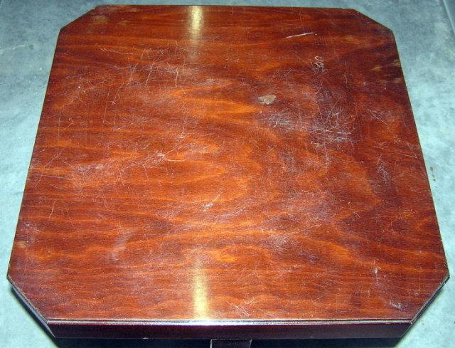 Art Deco Bentwood Walnut Side Table
