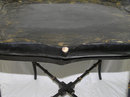 Black Chinoiserie Papier Mache Tray Table