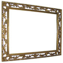 Giltwood Rectangular Overmantel Mirror