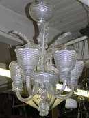 Venetian Murano Italian Glass Chandelier