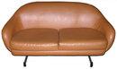Mid-Century Modern VIKO Leather Loveseat