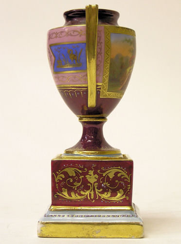 Neoclassical Royal Vienna Porcelain Urn