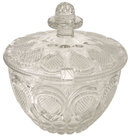 Bohemian Cut Glass Punch Bowl or Tureen
