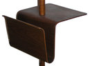 Wooden Floor Lamp w Magazine Rack