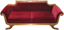 Neoclassical Duncan Phyfe Sofa