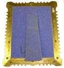Russian Jewelled Champleve Bronze Mirror