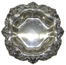 Shreve & Co Sterling Centerpiece Platter