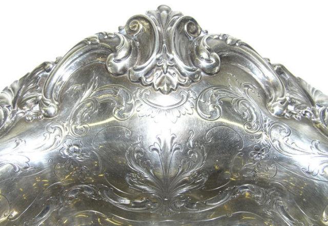 Shreve & Co Sterling Centerpiece Platter