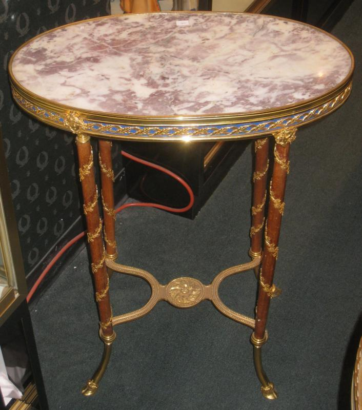 Antique French Neoclassical Louis XVI Directoire Style Side Table