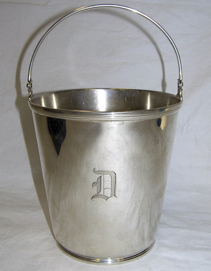1927 Tiffany Sterling Silver Ice Bucket