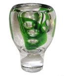 Vicke Lindstrand Kosta Glass Vase