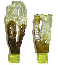 (2) Luciano Gaspari Rosin Salviati Sculptures
