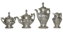Stieff Sterling Coffee & Tea Service Set