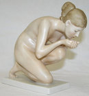 ERNST WENCK Rosenthal Nude Figurine