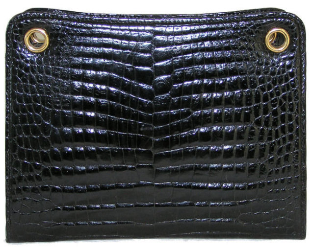 Vintage Gucci Crocodile Leather Purse Handbag