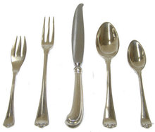 45pc Buccellati San Marco Sterling Flatware Set