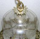 English Regency Georgian George III Gilt Bronze Gothic Ceiling Lantern