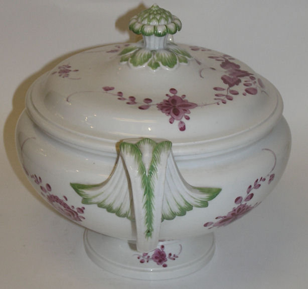 Antique Meissen Porcelain Soup Tureen
