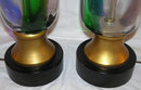 Pair Mid-Century Venini Murano Table Lamps