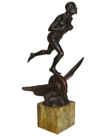 Art Deco MULLER Bronze Sculpture