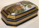 French DECO Porcelain Dresser Box