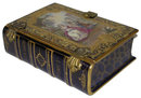 Antique Sevres Style Porcelain Book Form Box