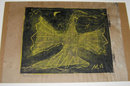 MILTON AVERY '52 Yellow Firebird Woodcut